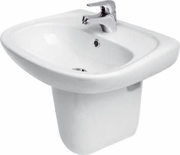 Praustuvas CERSANIT MARKET 50 su skyle Wash basins