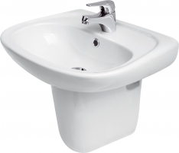 Praustuvas CERSANIT MARKET 55 su skyle Wash basins