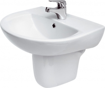 Praustuvas CERSANIT PRESIDENT 55 su skyle Wash basins