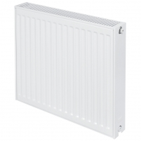 Radiator PURMO C 22 550-1200, subjugation on the side The lateral connection radiators