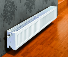 Radiator PURMO CV 22 200-2000, connection bottom (without brackets) The lower sequence radiators
