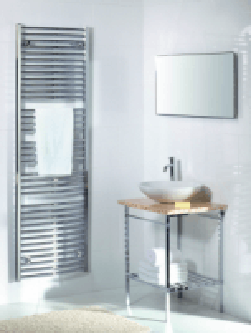 Rankšluosčių džiovintuvas PURMO FLORES C CH 600-770 296 W Towel rails with connections dryers heating systems