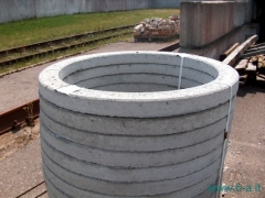 Manhole grade ring RŽ 7-05 Wells concrete rings and bases