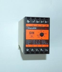 Rėlė laiko GIM 3s230V Time relay