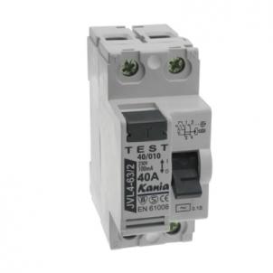 Rėlė srovės nuot.JVL63/2 40A/003 Dc leakage relay