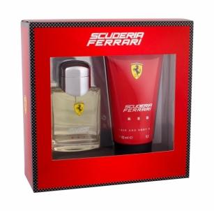 Rinkinys Ferrari Red EDT 75ml + 150ml dušo želė