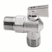 Rutulinis ventilis ITAP, kampinis, d 1/2''-1/2''