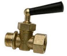 Rutulinis ventilis WATTS manometrui, trieigis RM15-MZ, d 1/2'' Citi vārsti
