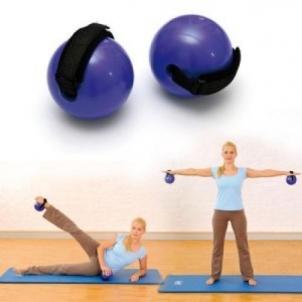 SISSEL Fitness pasunkinti kamuoliukai su dirželiu 500 g