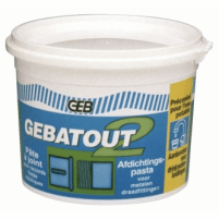 Sandarinimo pasta ''GEBATOUT 2 TUBE'' 500g Other plumbing supplies