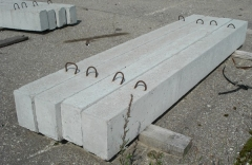 Lintel non-bearing 8PB 13-1 Reinforced Concrete lintel