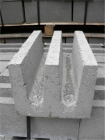 Lintel blocks Sr 2-4 (BROLIO) Concrete blocks