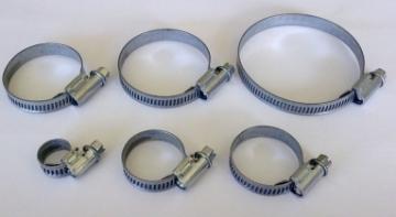 Sąvarža, d 100-135 Tvirtinimo elementai santechnikai