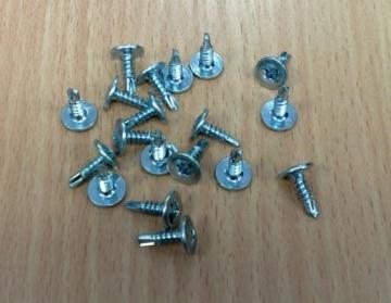 Savisriegis 4,2x16 į metalą cinkuotas su grąžteliu 1000 vnt. Metal screws though, galvanized (with grąžteliu)