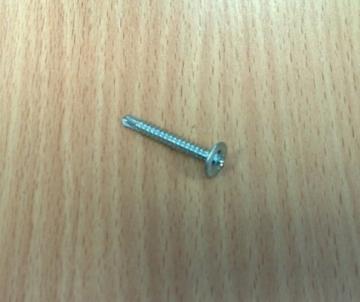 Savisriegis 4,2x25 į metalą cinkuotas su grąžteliu 500 vnt. Metal screws though, galvanized (with grąžteliu)
