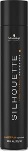 Schwarzkopf Silhouette Super Hold Hairspray Cosmetic 500ml Plaukų modeliavimo priemonės