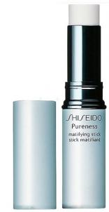 Shiseido PURENESS Matifying Stick Oil-Free Cosmetic 4g Maskuojamosios priemonės veidui