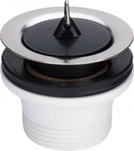 Sifono ventilis VIEGA su kamsčiu 40x70 Trapai, sifonai