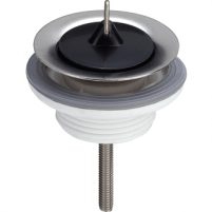 Sifono ventilis praustuvui VIEGA plastikinis su kamščiu Trapai, sifonai