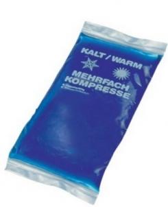 Šildantis-šaldantis gelio kompresas be užvalkalo, 13x14 cm Cold heat therapy
