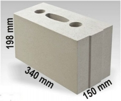 Silicate block ARKO M15 340x150x198 Sand-lime blocks