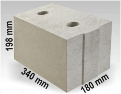 Silicate block ARKO M18 340x180x198 Sand-lime blocks