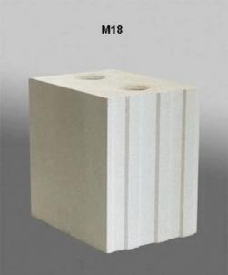 Silikatiniai blokai 'SILIBLOKAS' M18 Silikatiniai blokeliai