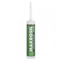 Silicone MAKROSIL SA colorless 310 ml Silicone sealants