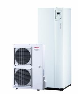 Šilumos siurblys Atlantic Excellia DUO TRI S16 TRI split tipo 15,17 kW Oras/vanduo su vėsinimo galimybe (400V)