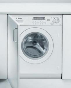 Skalbyklė-džiovyklė Candy CDB 485D/1-37S Įmontuojamos skalbimo mašinos