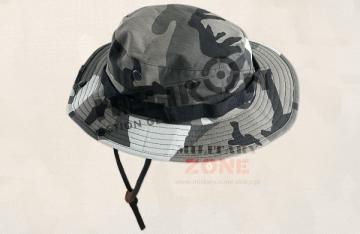 Skrybėlė HELIKON karinė Boonie Hat, juodai-pilkas kamufliažas Головные уборы