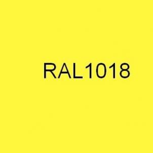 Spalvota skarda (poliesteris) RAL1018 geltona Spalvota skarda (lygi)