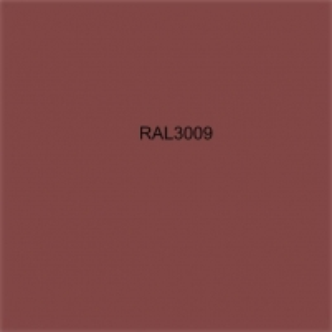 Spalvota skarda (poliesteris) RAL3009 šviesiai ruda Spalvota skarda (lygi)