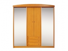 Cupboard 205-4D with mirror