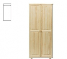 Spinta SF103 (82x190x60 cm) Wooden bedroom closets