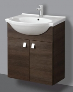Cabinet vanity Riva60 SA60-11 dark Bathroom cabinets