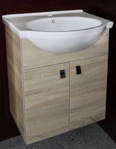 Cabinet vanity Riva60 SA60-11 sonoma Bathroom cabinets