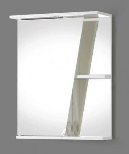 Spintelė su veidrodžiu Riva SV55 (viršutinė) Vonios spintelės