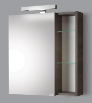 cabinet with mirror Riva60 SV60-11 dark