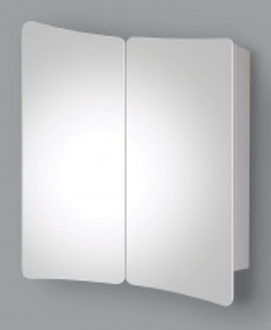 Spintelė su veidrodžiu Riva60 SV60-6 Vonios spintelės