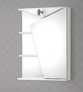Spintelė su veidrodžiu Riva60 SV60 Vonios spintelės