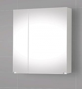 Spintelė su veidrodžiu Riva60 SV61-1 Vonios spintelės