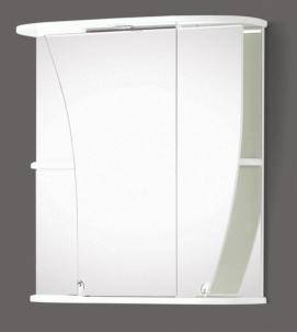 Spintelė su veidrodžiu Riva64 SV66 Vonios spintelės