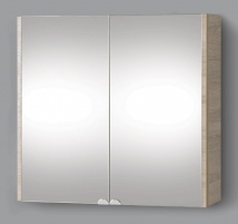 cabinet with mirror Riva75 SV75-12 sonoma Bathroom cabinets