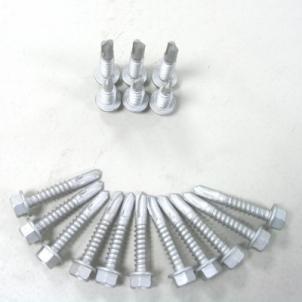 Sraigtas 4.8x38 DIN7504K (su gr. iki 5mm) cink. Savigręžiai Din 7504 K, cinkuoti (į met. iki 5 mm.)