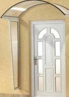 Canopies Rondo 90N 158x90x27 white Door canopies