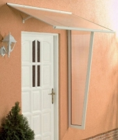 Canopies Standart 160 160x85x38 white Door canopies