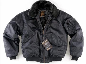 Striukė CWU Flyers juoda Helikon Black KU-CWU-NL-01 Soldier jackets, jackets