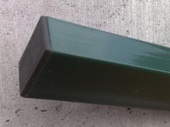 Stulpas karštai cinkuotas 60x40x2000 dažytas Poļi, žogu