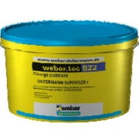 Superflex 1(weber.tec 822) šviesiai pilkas 24 kg Damp proofing blends